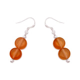 Silk Road Double Earrings - Polka Luka Resin Jewellery