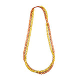 Edo Double Strand Wood Necklace