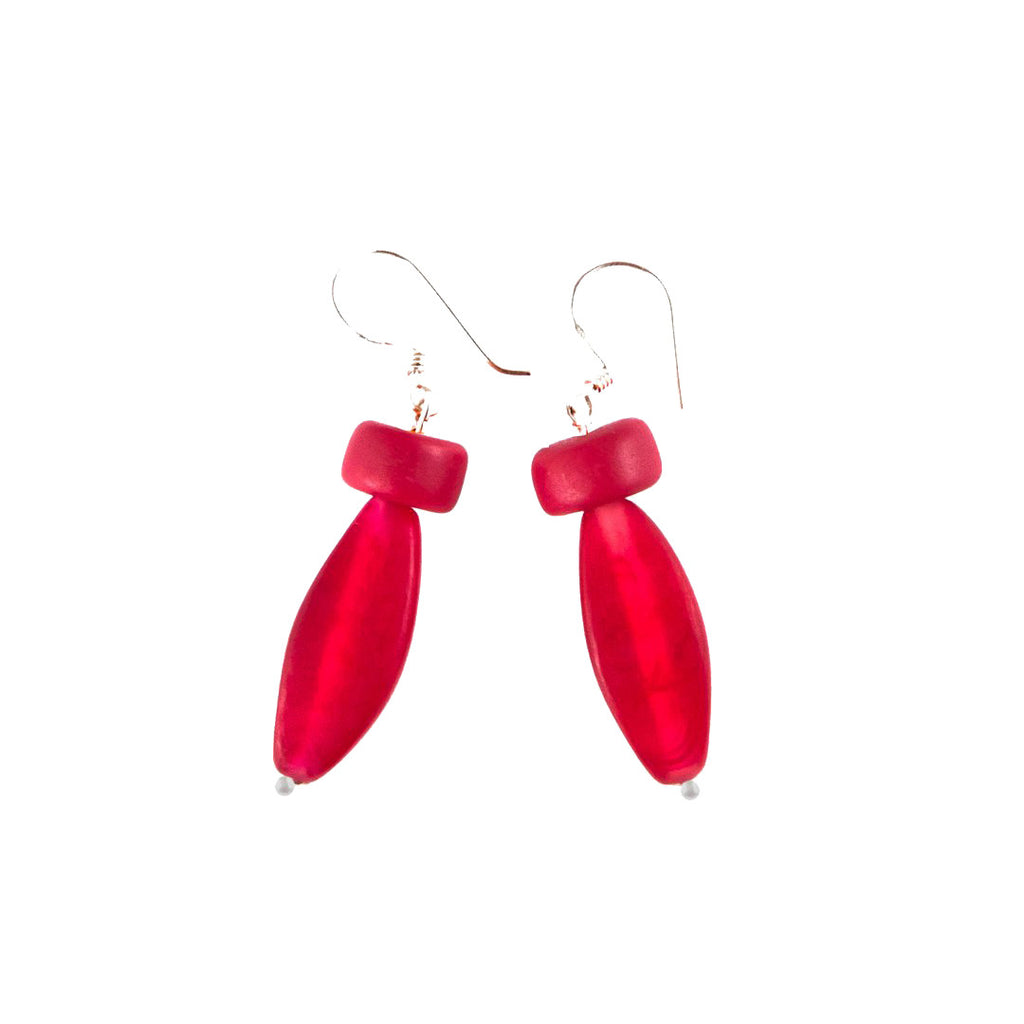 'Prabang' Resin Earrings - Polka Luka Resin Jewellery