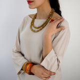 Silk Road Double Necklace