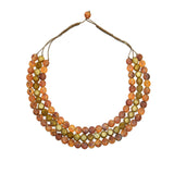 Silk Road Short Triple Necklace - Polka Luka Resin Jewellery