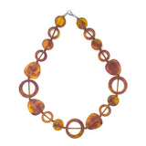 Tangier Short Resin Necklace - Polka Luka Resin Jewellery