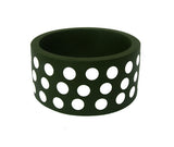 'Polka Dot' Bangle - Polka Luka Resin Jewellery