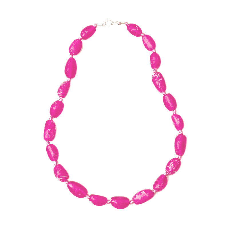 Sabi' Short Resin Necklace - Polka Luka Resin Jewellery