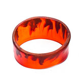 'Soho' Resin Bangle - Polka Luka Resin Jewellery