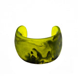 'Ubud' Resin Cuff - Polka Luka Resin Jewellery