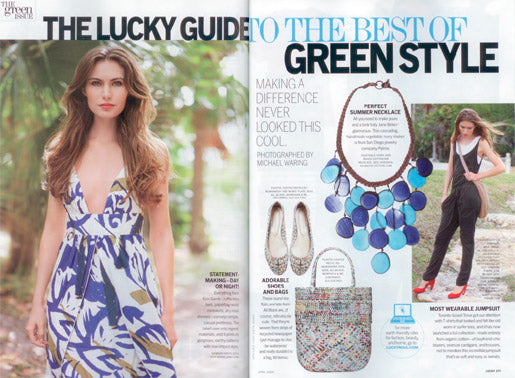 Palma Collection Hossada necklace in Lucky Magazine April 2009