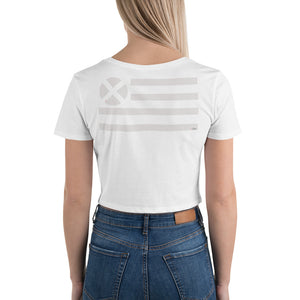 Catherine Crop Tee