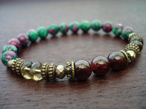 Women's Hope & Strength Mala Bracelet