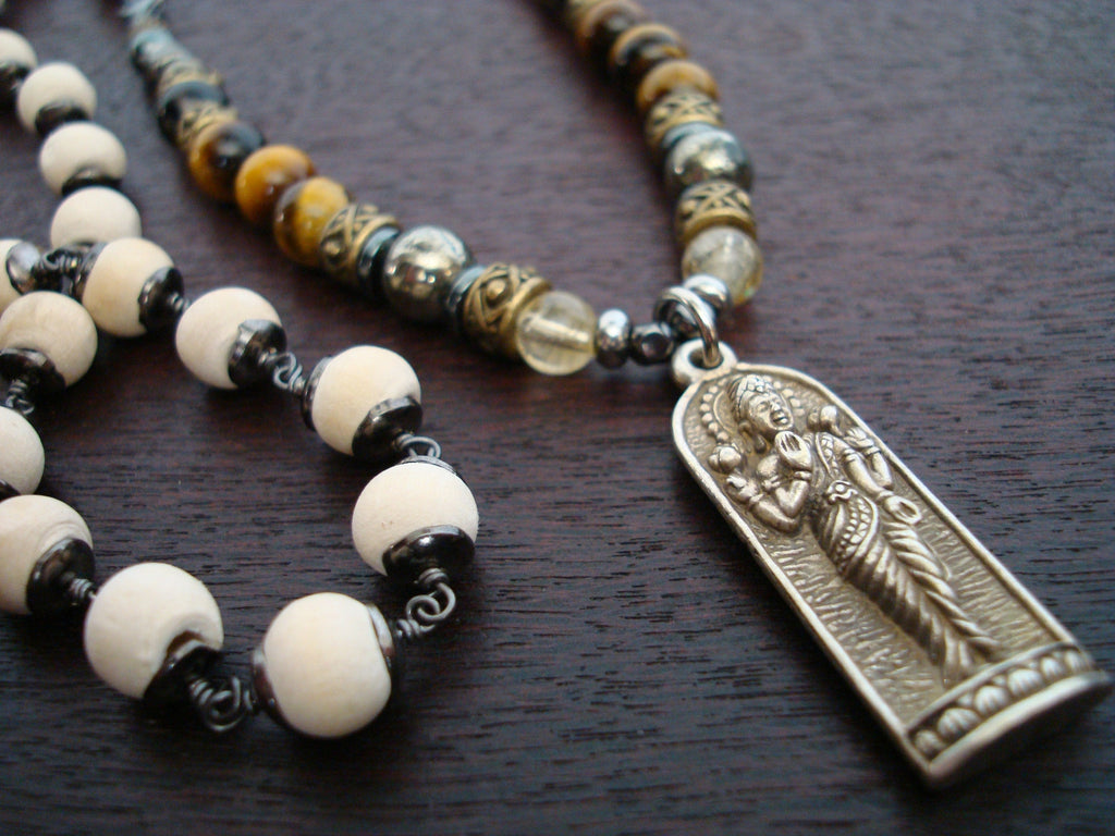 Unisex Protection, Luck & Mental Balance Mala
