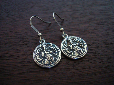 Sterling Silver Ganesha Earrings