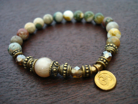Women's Celebrate Life & Anti-Stress Mala Bracelet