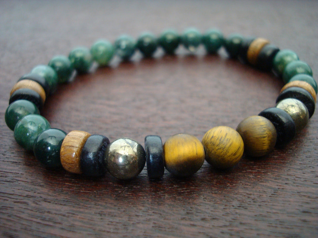 Men's ECO Protection, Luck, & Balance Bracelet