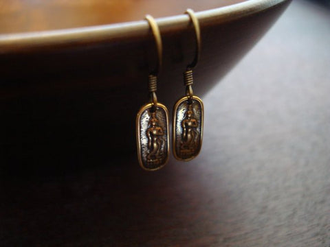 Women's Thai Buddha Earrings