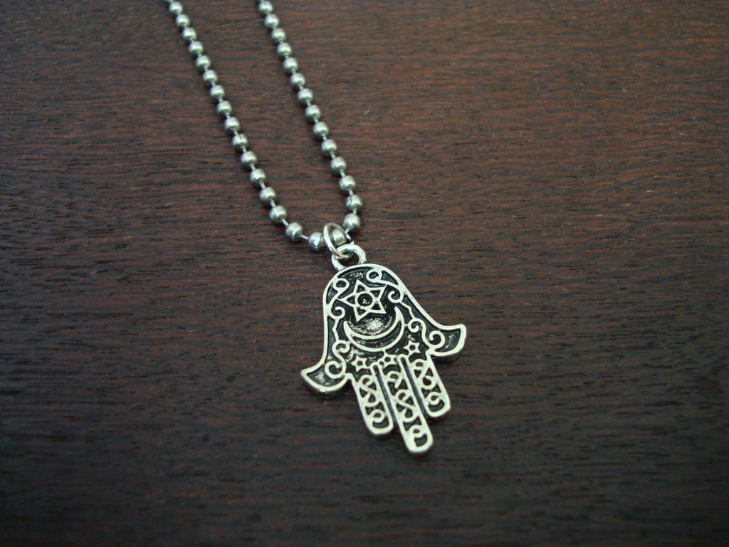 Mens Hamsa Necklace