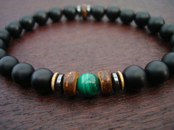 Men's Protection & Spiritual Growth Bracelet