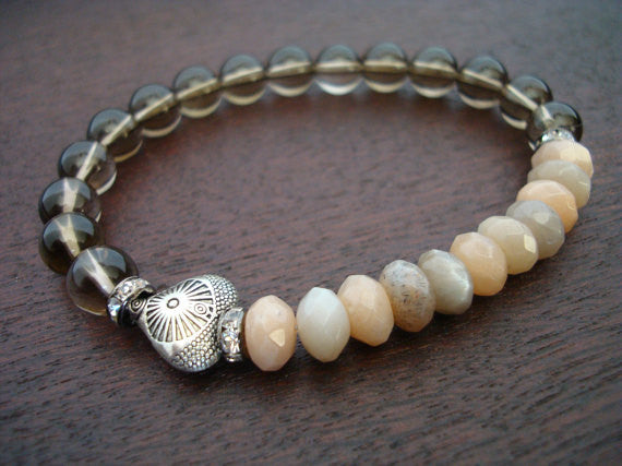 Women's Love & Heart Mala Bracelet