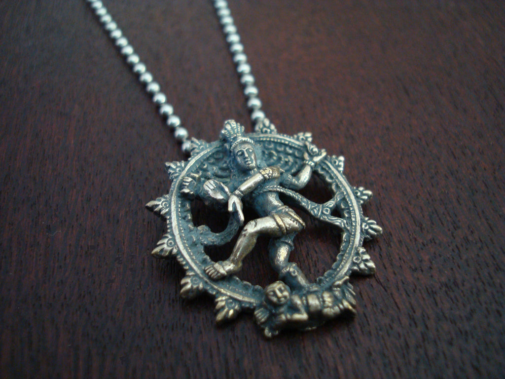 Cosmic Dancer Nataraja Necklace