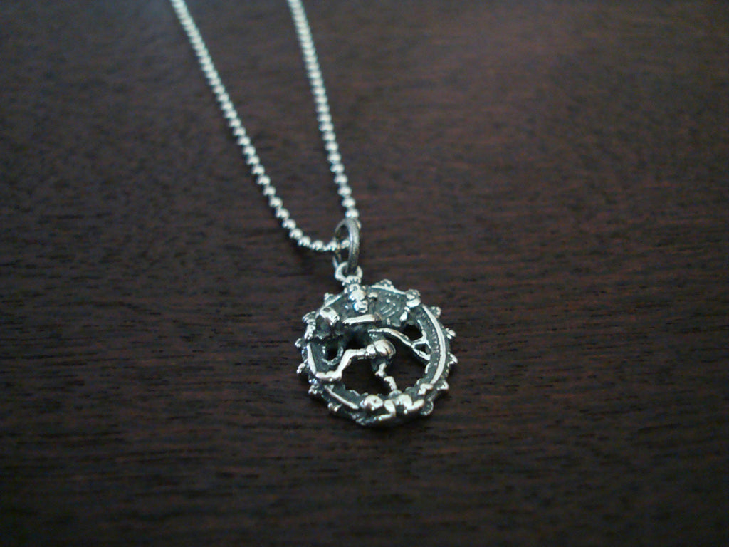 Sterling Silver Cosmic Dancer Necklace