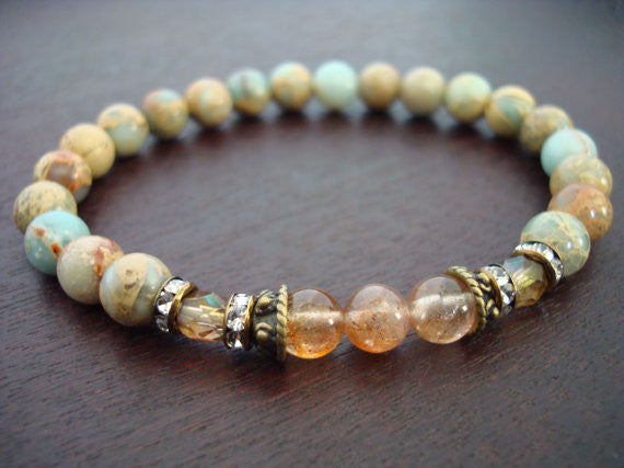 Women's Stress Relieving Mala Bracelet
