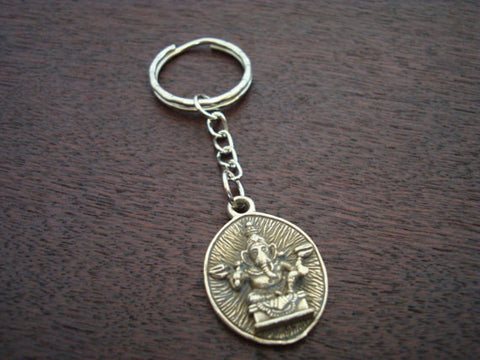 Ganesha Om Key Chain