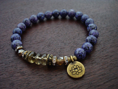 Purple Malas & Jewelry | 6th Chakra Jewelry | Third Eye Chakra