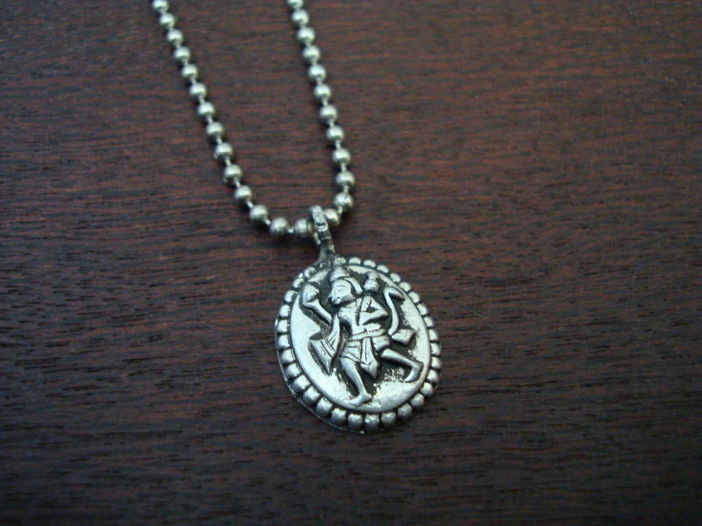 Mens Heart Messenger Necklace