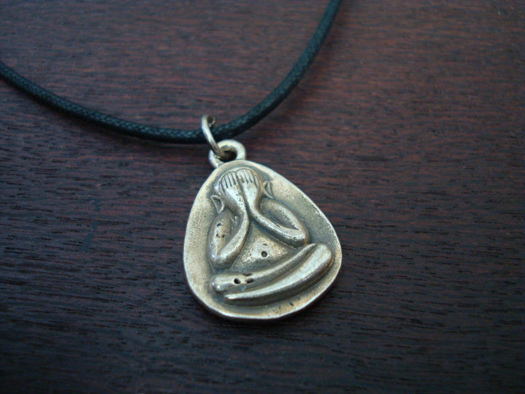 Mens Seeing Within Buddha Necklace