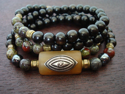 Men's Eye of Shiva Mala