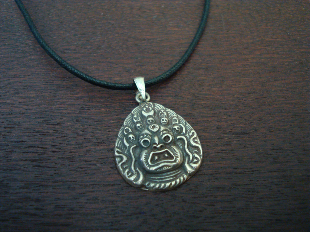 Mens Mahakala Protector Necklace