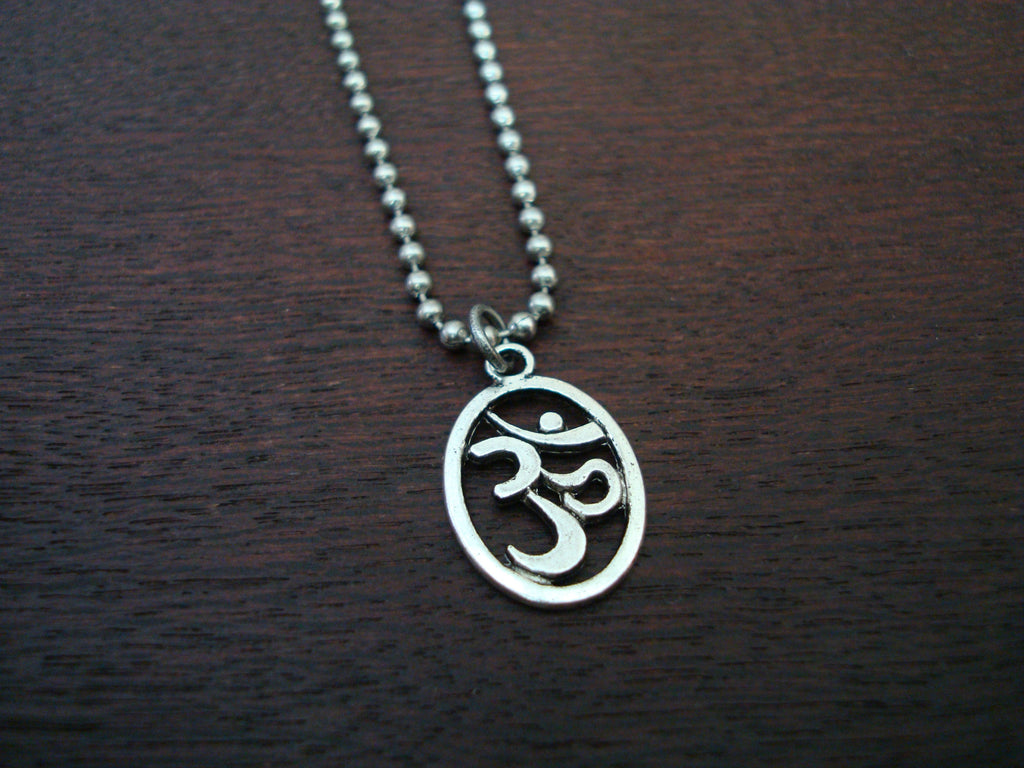 Mens Om Necklace