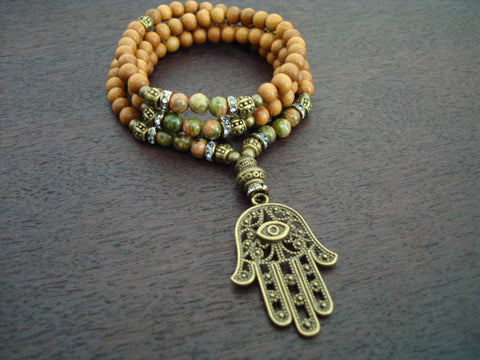 Women's Positivity & Protection Mala