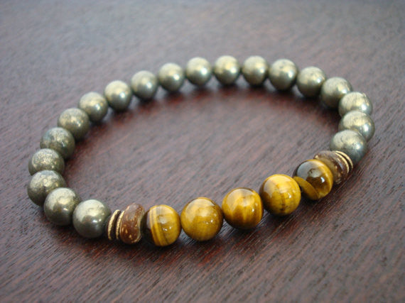 Men's Protection, Luck, & Mental Balance Bracelet