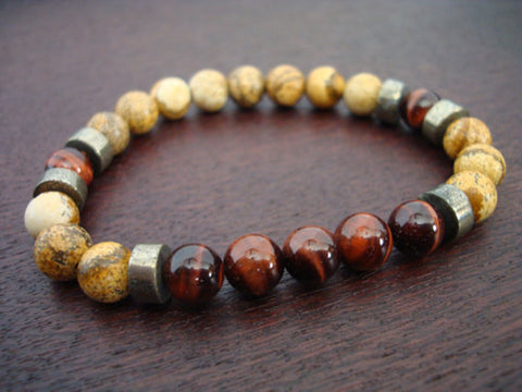 Men's Vitality & Protection Mala Bracelet