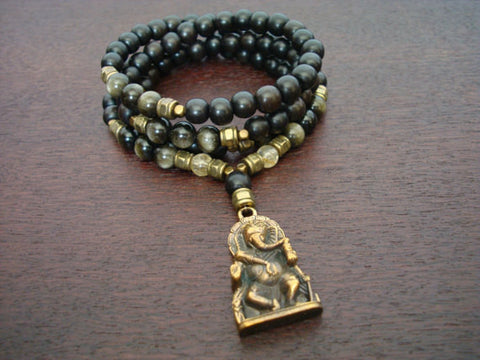 Men's Good Fortune Ganesha Mala