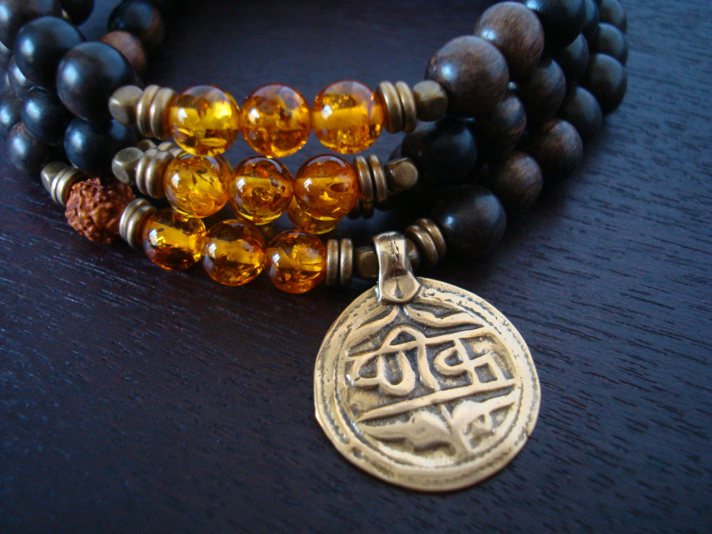 Men's Baltic Amber Healing Mala