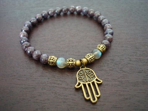Women's Strength & Calm Mala Bracelet