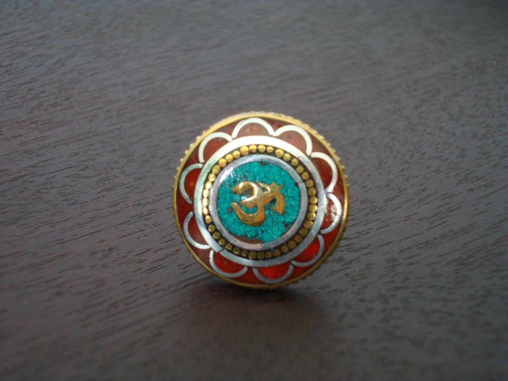 Coral Om Ring
