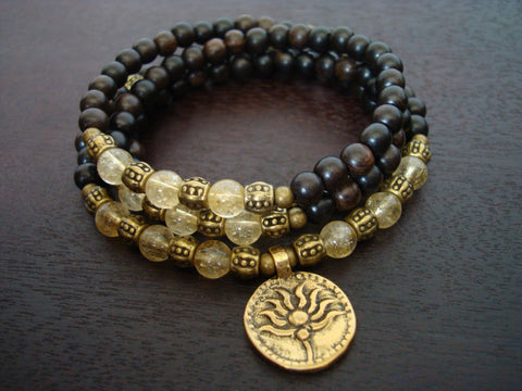 Women's Good Fortune Lotus Mala