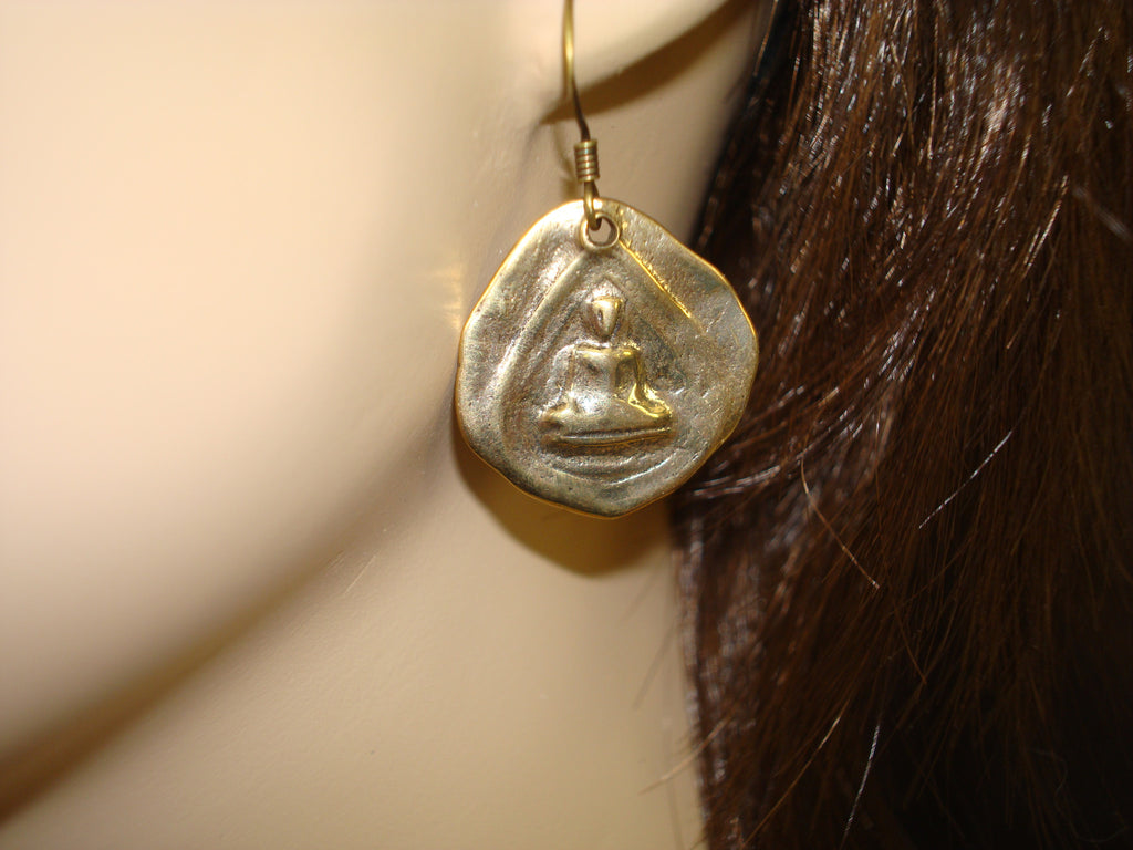 Women's Buddha Earrings