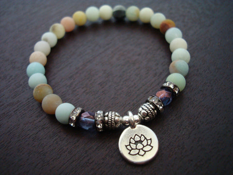 Women's Anti-Anxiety Amazonite Bracelet