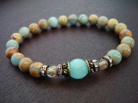 Women's Anti-Anxiety Opal Mala Bracelet