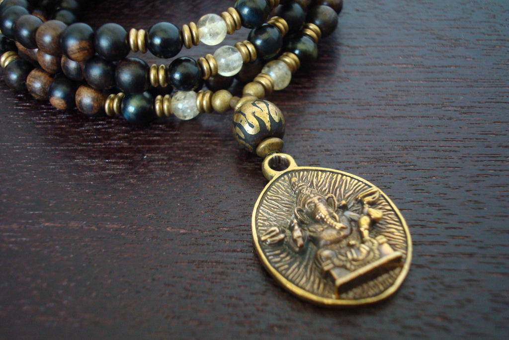 Men's Protection & Prosperity Ganesha Mala