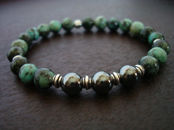 Men's Grounding & Calming Mala Bracelet