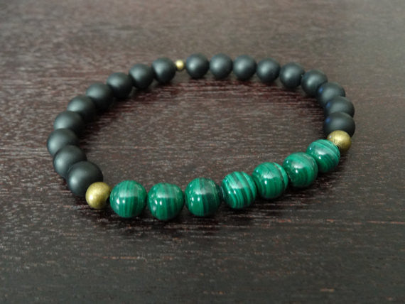 Men's Protection & Balancing Mala Bracelet