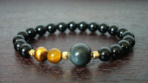 Men's Strength & Protection Mala Bracelet
