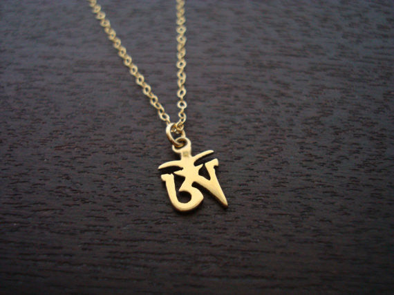 Tibetan Om Necklace