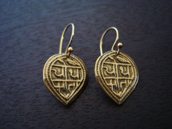 Good Health Mantra Earrings