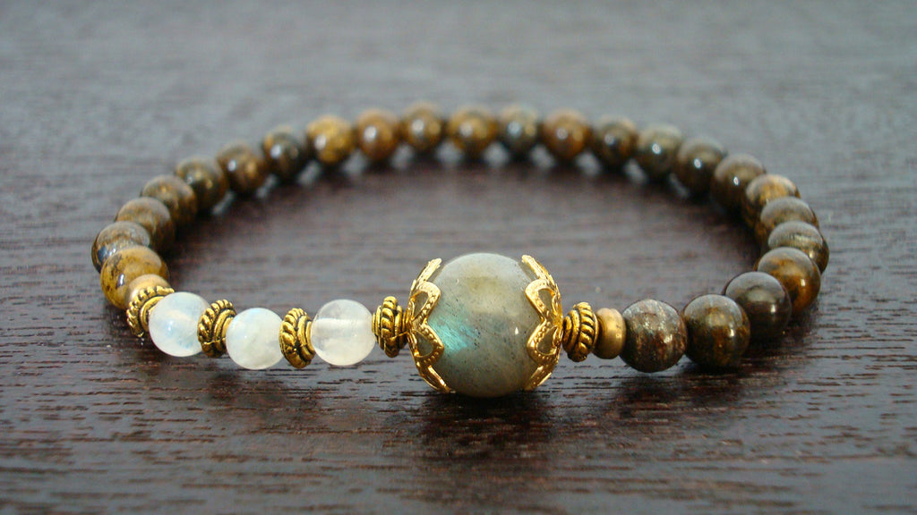 Women's Strength & Wisdom Mala Bracelet