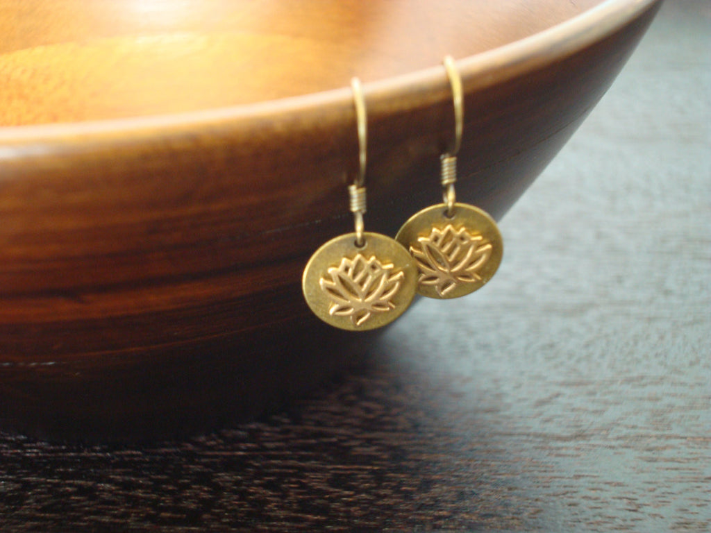 Women's Awakening Lotus Earrings